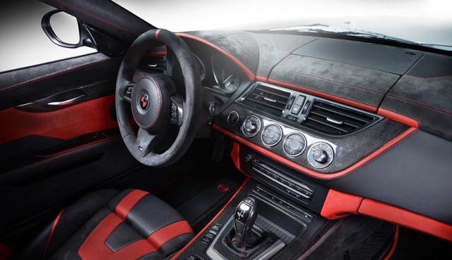 Más lujo y contraste de colores para el BMW Z4 de Carlex Design 1