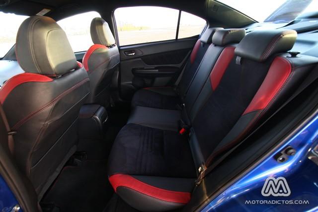 Prueba: Subaru WRX STI (diseño, habitáculo, mecánica) 11