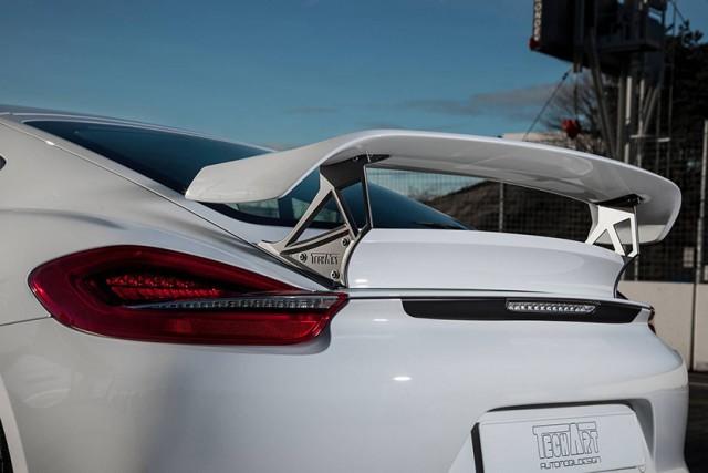 TechArt actualiza su paquete de rendimiento exclusivo del Porsche Cayman 1