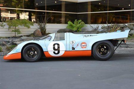 A la venta un Porsche 917K de 1969 pintado con los colores de Gulf