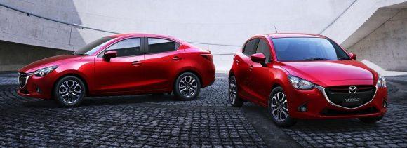Mazda2 Sedan 2015: Tres cuerpos para el pequeñín nipón