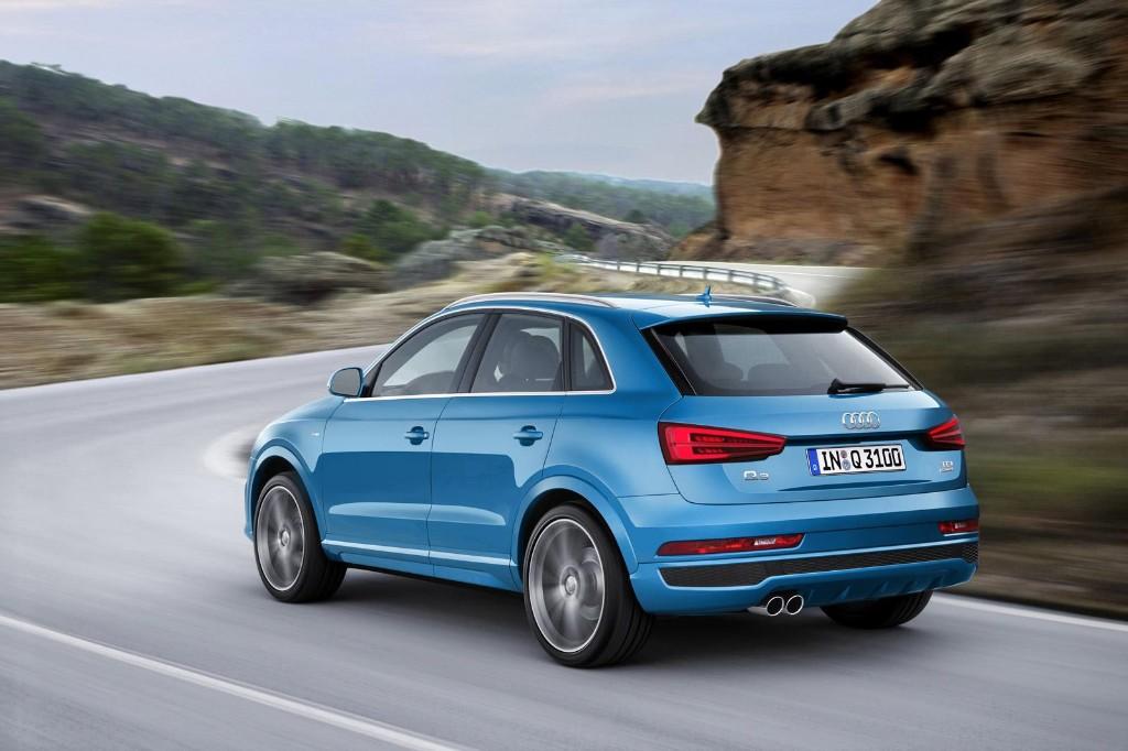 Audi Q3 y RS Q3 2015: Pequeña cirugía y gama de motores renovada 3