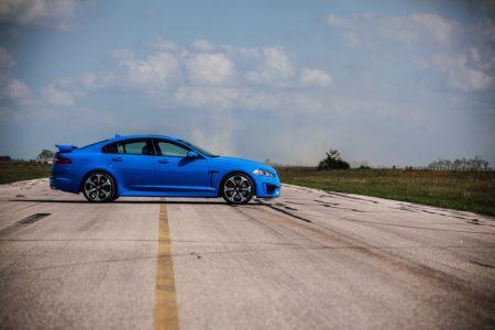 650 caballos para el Jaguar XFR-S gracias a Hennessey Performance