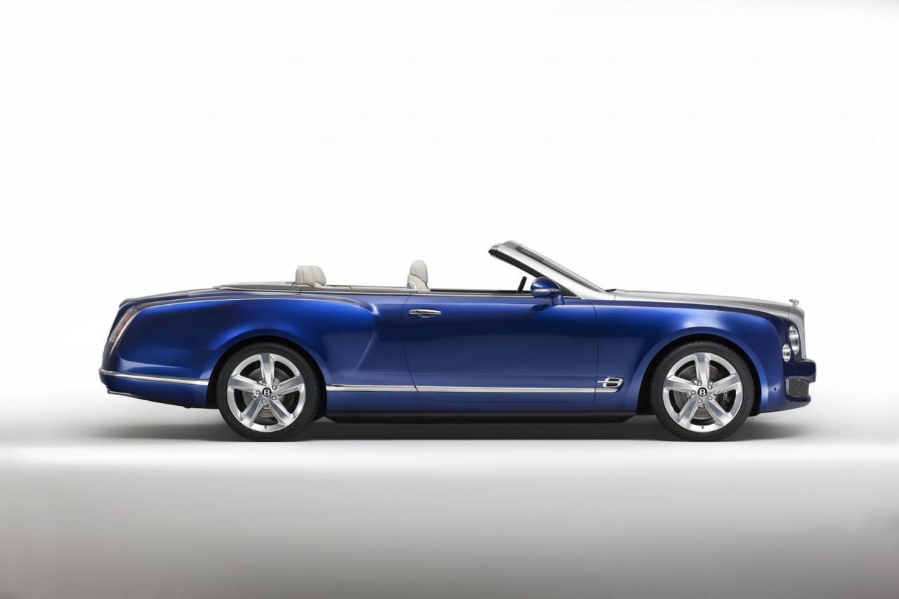 Oficial: Bentley Grand Convertible, el Mulsanne descapotable  1