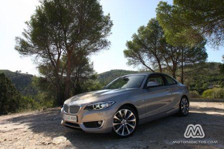 Prueba: BMW 220d 184 CV Modern Line (equipamiento, comportamiento, conclusión)
