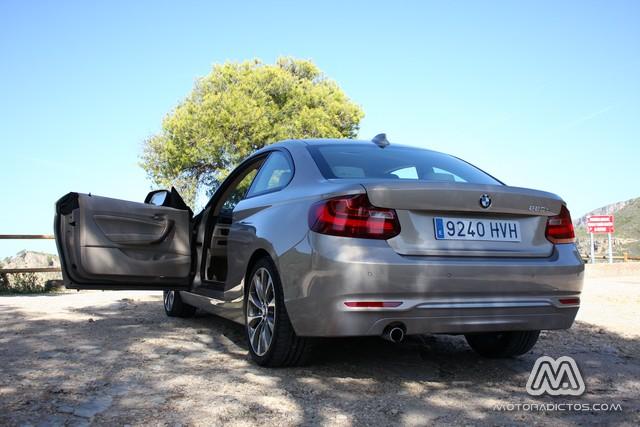 Prueba: BMW 220d 184 CV Modern Line (equipamiento, comportamiento, conclusión) 10