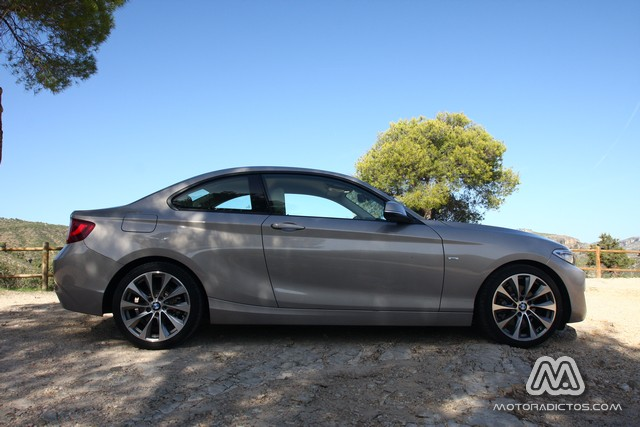 Prueba: BMW 220d coupé 184 CV Modern Line (diseño, habitáculo, mecánica) 4