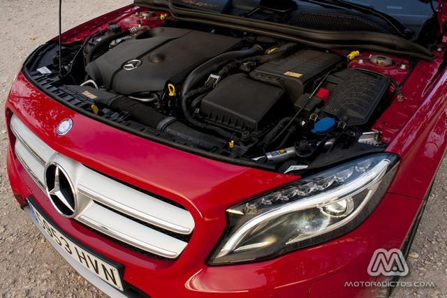 Prueba: Mercedes Benz GLA 220 CDI 4MATIC (diseño, habitáculo, mecánica) 1