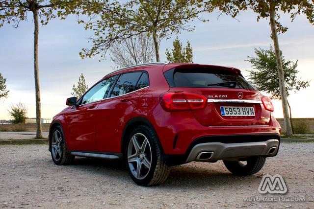 Prueba: Mercedes Benz GLA 220 CDI 4MATIC (diseño, habitáculo, mecánica) 6