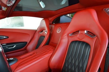 A la venta el único Bugatti Veyron Grand Sport rojo y negro