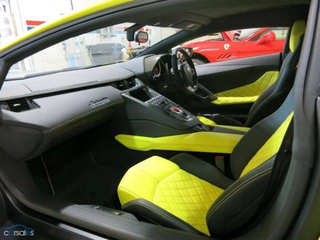 A la venta el primer Lamborghini Aventador LP720-4 entregado a un cliente 1
