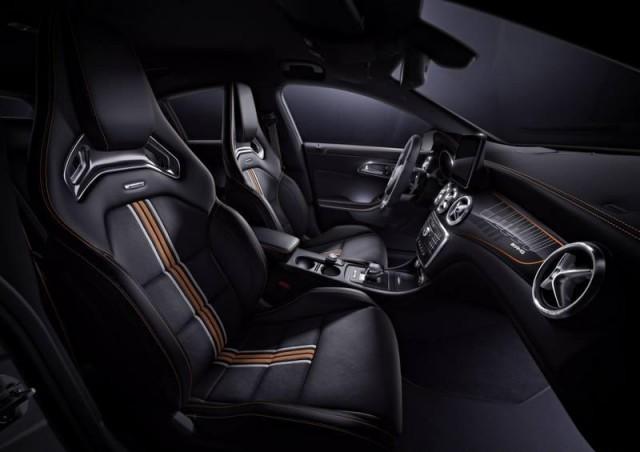 Así luce el nuevo Mercedes CLA45 AMG Shooting Brake Orange Art Edition 3