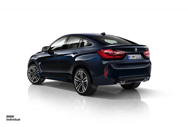 BMW X5 y X6 M Individual: La potencia no está reñida con la elegancia 2