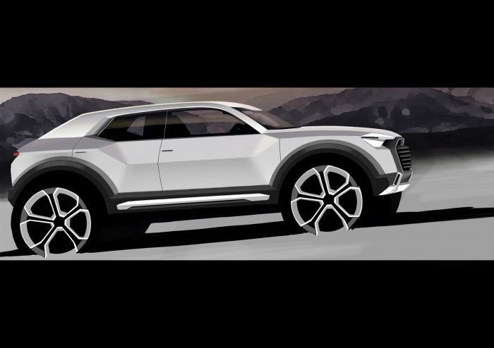 El Audi Q1 será un mix de carrocerías 1
