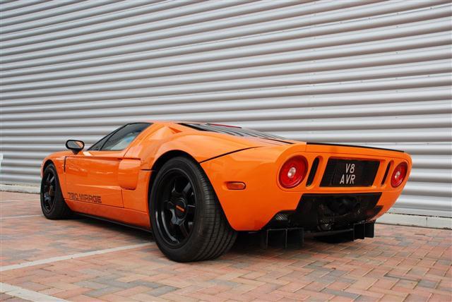 Habrá un nuevo Ford GT, con motor central y 6 cilindros  2