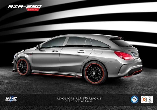 Mercedes CLA Shooting Brake por RevoZport, hasta 450 caballos de potencia 1