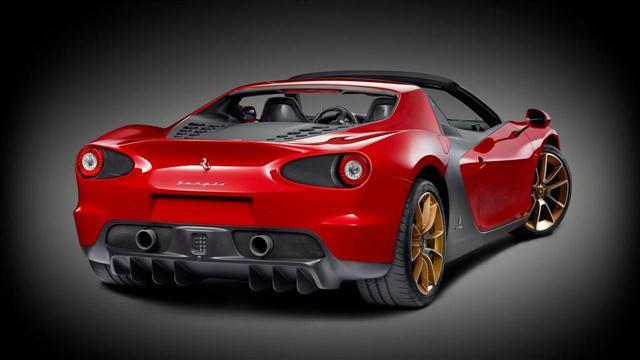 Oficial: Ferrari Sergio, 6 unidades como tributo a Pininfarina 3