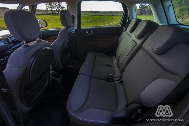 Prueba: Fiat 500L Trekking 1.6 Multijet 105 CV (diseño, habitáculo, mecánica) 7