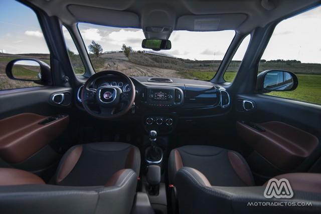 Prueba: Fiat 500L Trekking 1.6 Multijet 105 CV (diseño, habitáculo, mecánica) 8