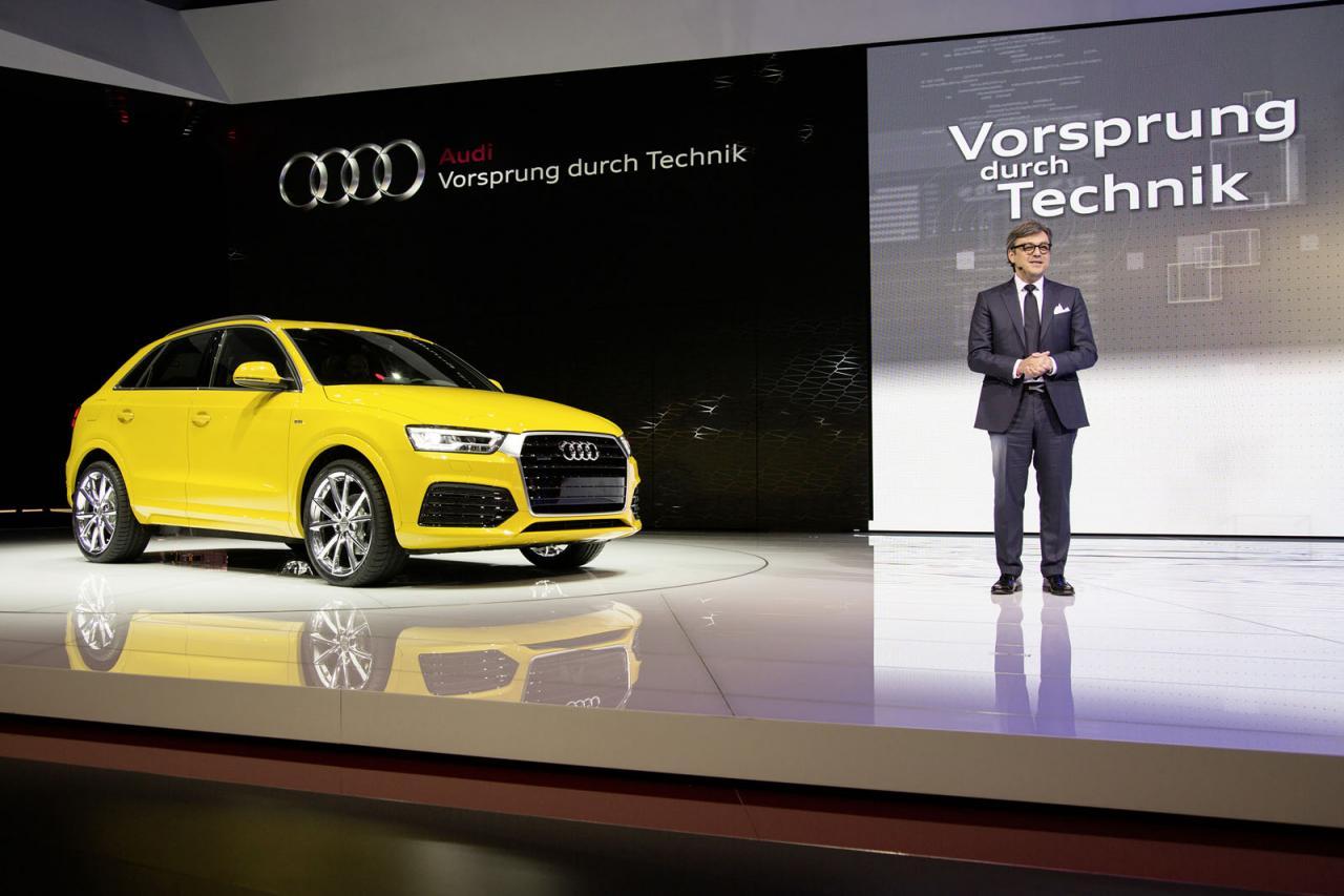 2016 Audi Q3, debut oficial en Detroit 2