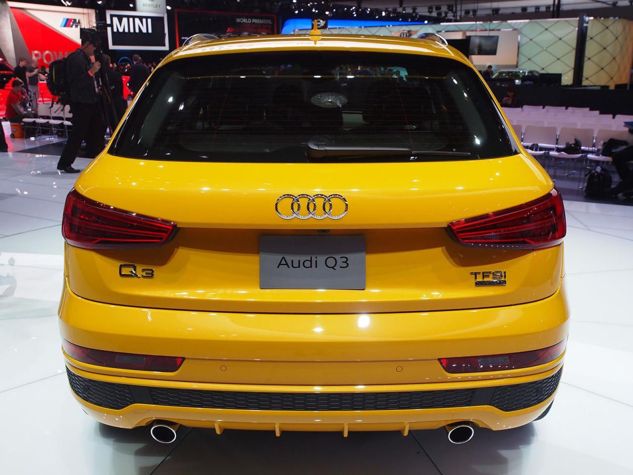 2016 Audi Q3, debut oficial en Detroit 3