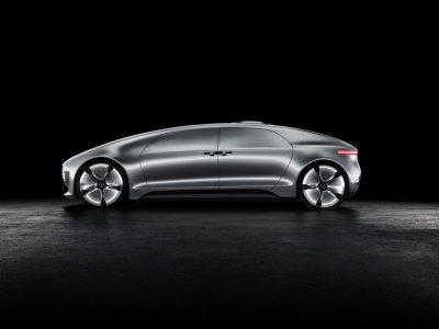 Mercedes-Benz F015 Luxury in motion: Eléctrico, con pila de hidrógeno y autónomo