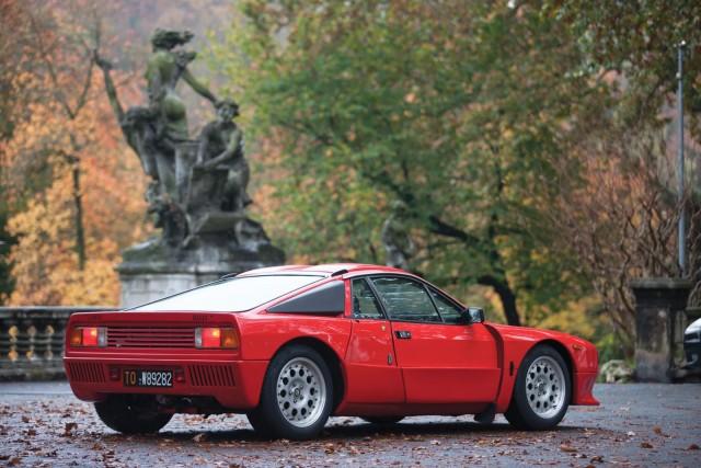 A subasta un rarísimo Lancia 037 Stradale de 1982 1