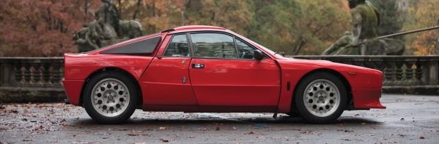 A subasta un rarísimo Lancia 037 Stradale de 1982 2