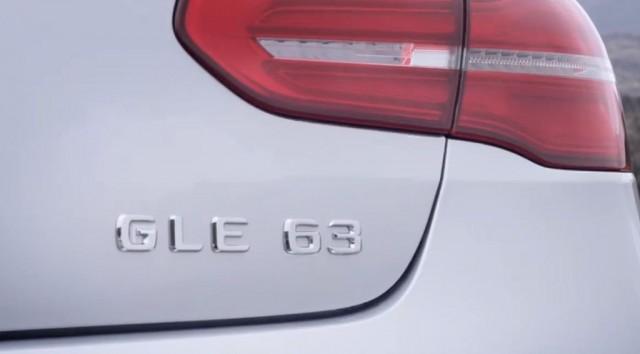 Así luce el nuevo Mercedes GLE63 AMG Coupé 2