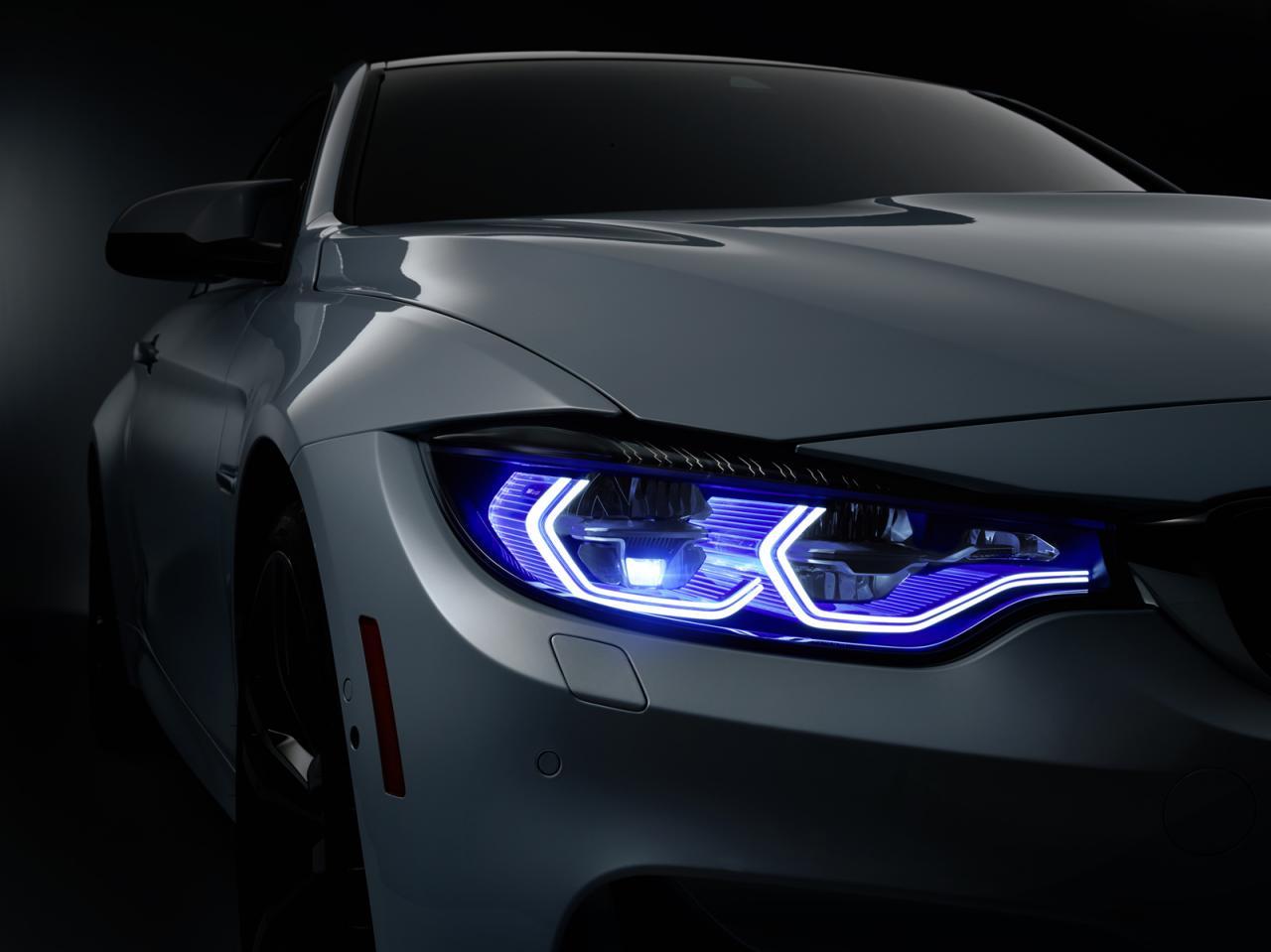 BMW M4 Concept Iconic Lights, brutal y anticipándonos el futuro próximo 3