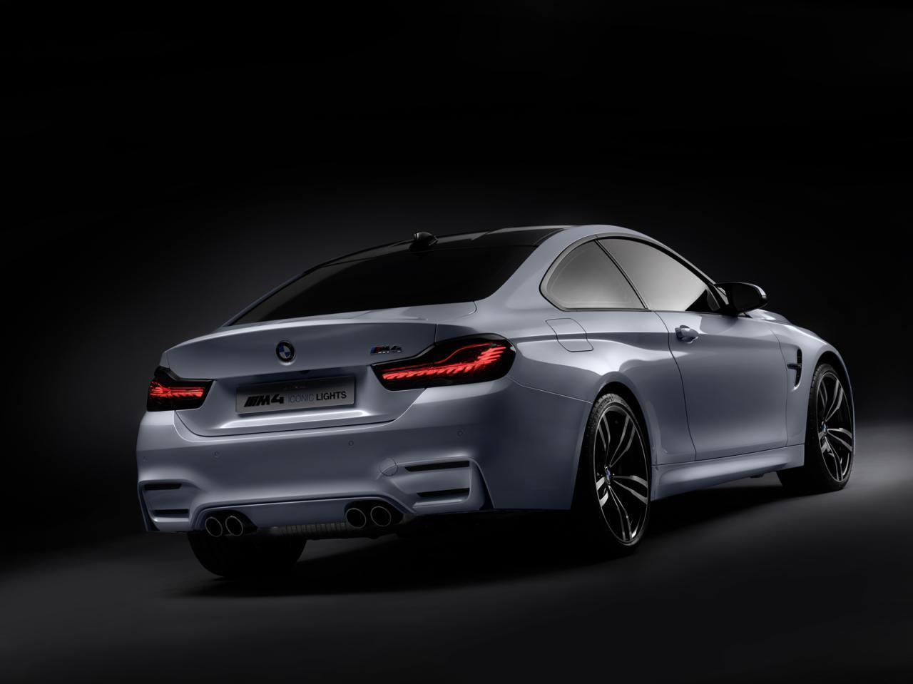 BMW M4 Concept Iconic Lights, brutal y anticipándonos el futuro próximo 4