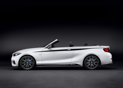 BMW Serie 2 Cabrio: Retoques M Performance