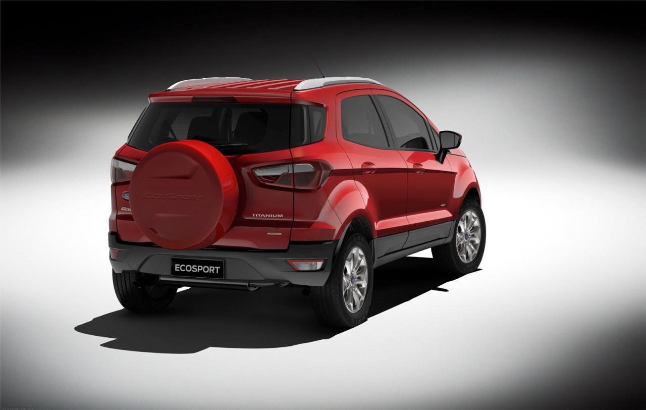 El Ford EcoSport recibirá cambios en Europa para paliar las bajas ventas 2