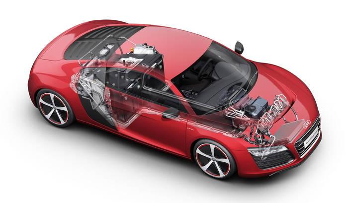 El R8 e-tron será el preludio del primer Audi RS híbrido 1