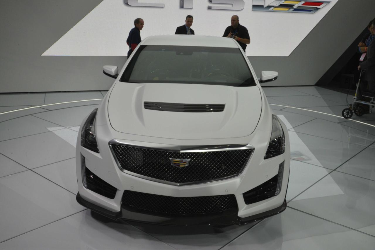 En vivo: Cadillac CTS-V, desde Detroit y con 640 caballos 2