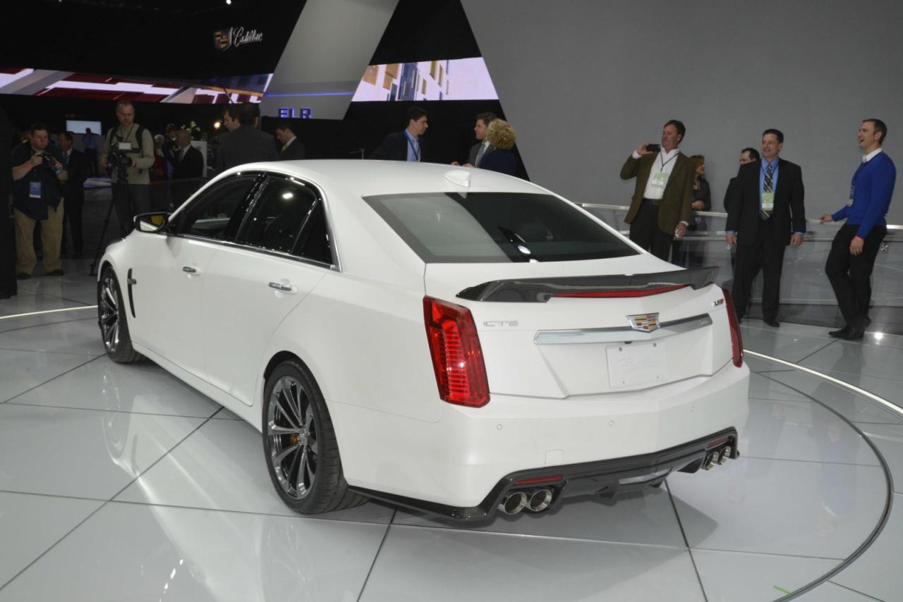En vivo: Cadillac CTS-V, desde Detroit y con 640 caballos 3