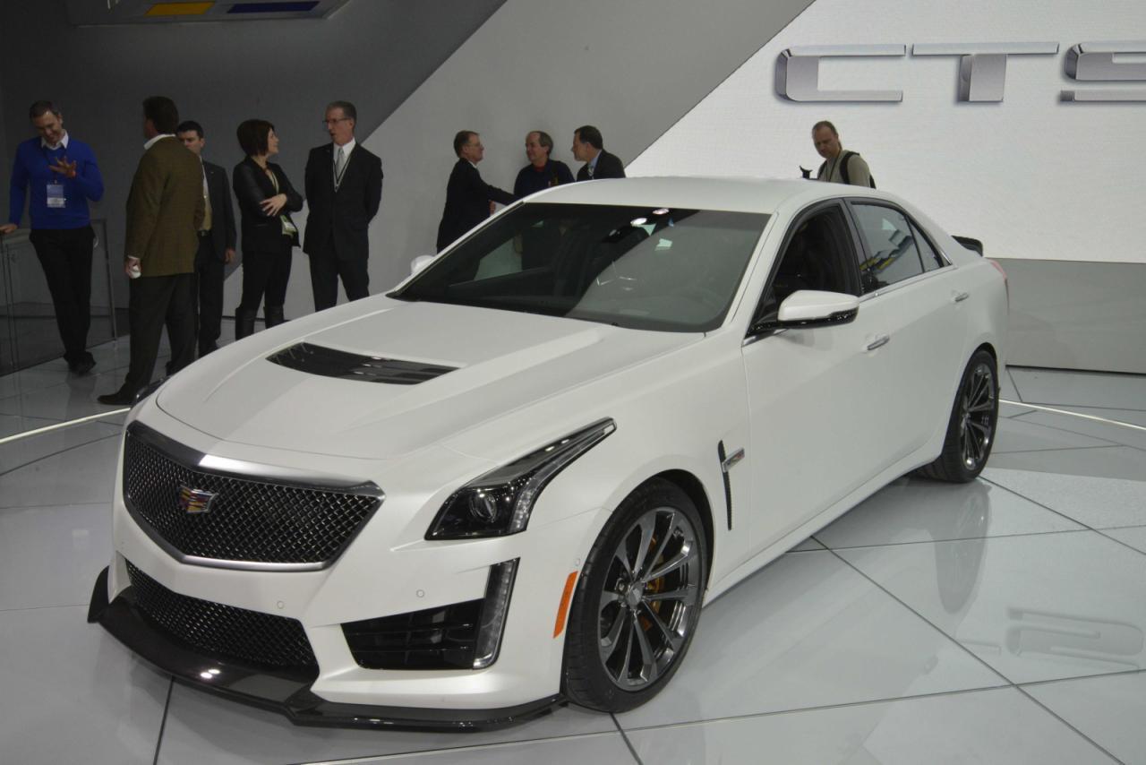 En vivo: Cadillac CTS-V, desde Detroit y con 640 caballos 4