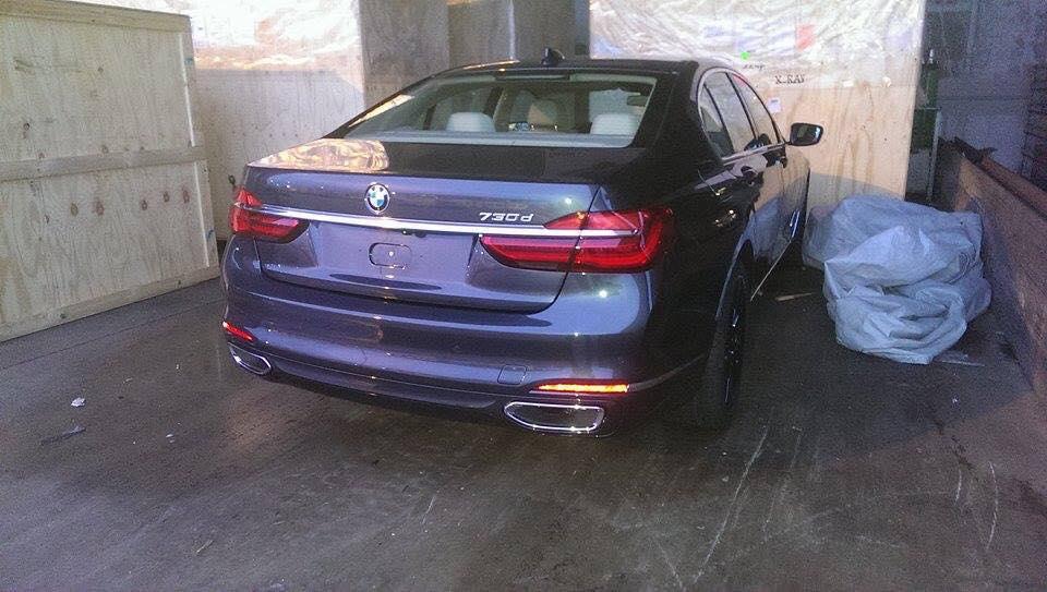 ¡Filtrado! Nuevo BMW Serie 7, al descubierto y en guisa de producción 3
