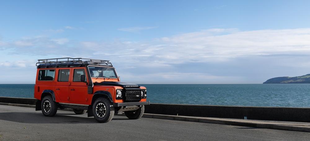 Land Rover Defender Celebration Series: Preparando su despedida 2