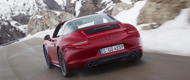 Llega el Porsche 911 Targa 4 GTS 2