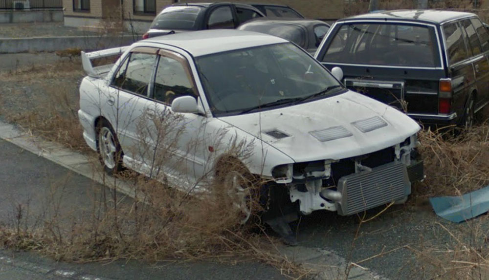 Los coches abandonados de Fukushima (Japón): Dolor a la vista 2