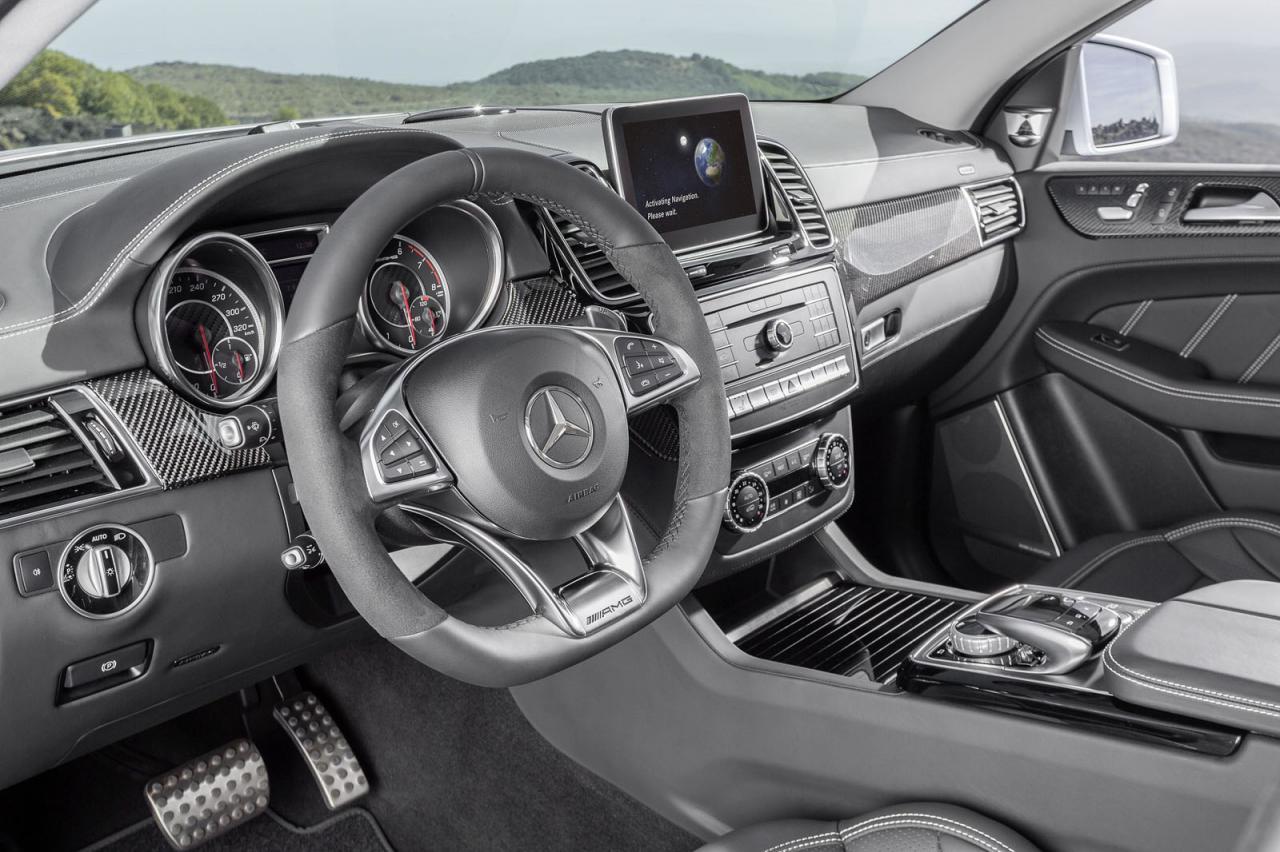 Mercedes-AMG GLE63 S Coupe 4MATIC, con 577 caballos de potencia 1