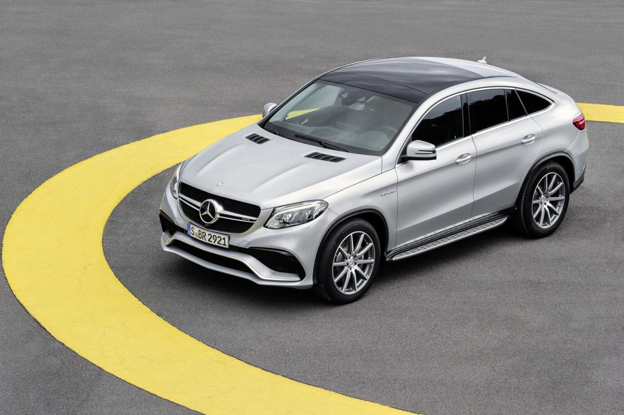 Mercedes-AMG GLE63 S Coupe 4MATIC, con 577 caballos de potencia 2