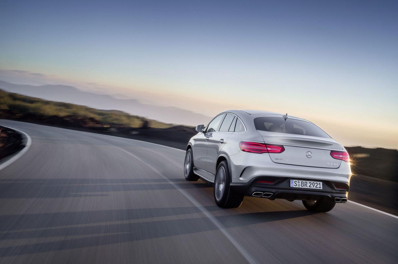 Mercedes-AMG GLE63 S Coupe 4MATIC, con 577 caballos de potencia 4