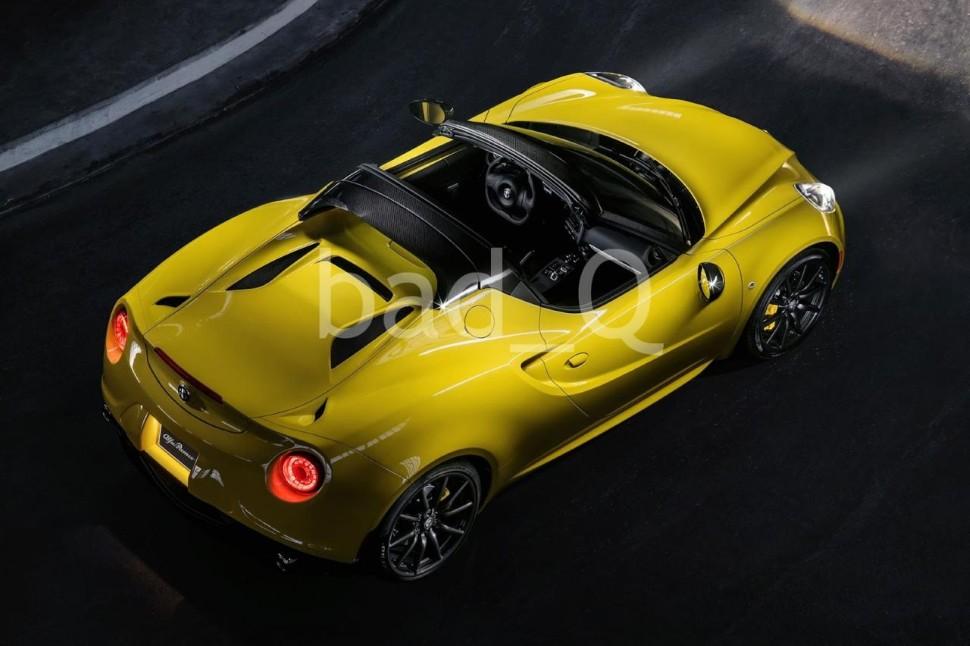 Primeras imágenes del Alfa Romeo 4C Spider de producción 1