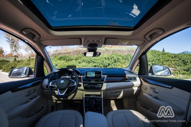 Prueba: BMW 218d Active Tourer Luxury Line (diseño, habitáculo, mecánica) 4