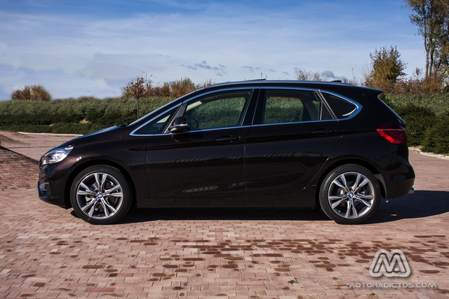 Prueba: BMW 218d Active Tourer Luxury Line (diseño, habitáculo, mecánica) 5