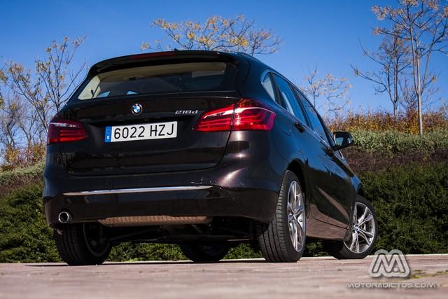 Prueba: BMW 218d Active Tourer Luxury Line (diseño, habitáculo, mecánica) 6