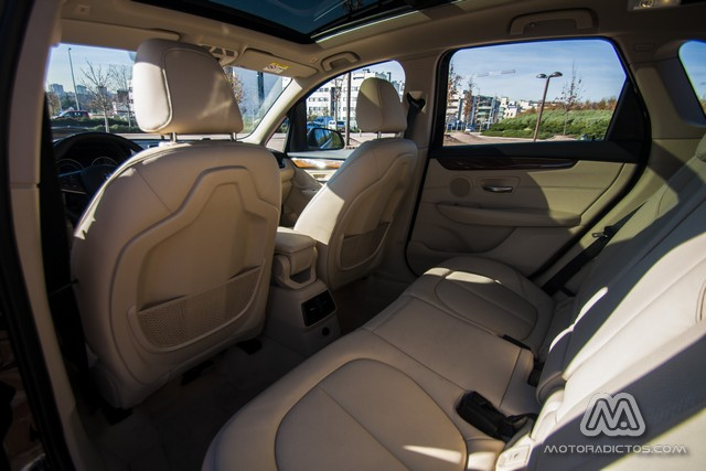 Prueba: BMW 218d Active Tourer Luxury Line (diseño, habitáculo, mecánica) 8