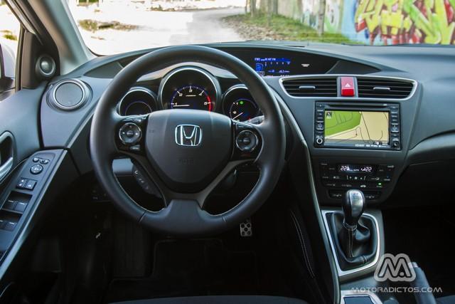 Prueba: Honda Civic Tourer 1.6 i-DTEC 120 CV Lifestyle (diseño, habitáculo, mecánica) 4
